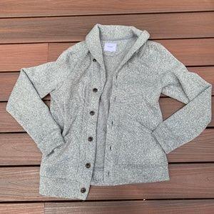 gary soft wool pea coat